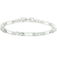 Elegant Clear CZ Bracelet