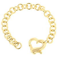 Golden Loaded Heart Bracelet