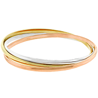 Interwoven Triple Hoop Bangle