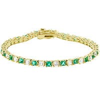 Irish Isle Tennis Bracelet