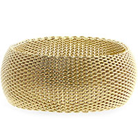 Monaco Gold Thick Bangle