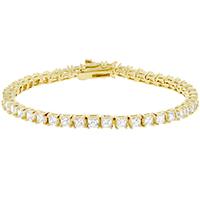 Venice Tennis Clear Bracelet