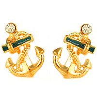Diann Anchor Earrings