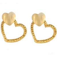 Ines Heart Earrings