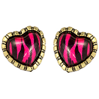 Kaitlin Heart Earrings