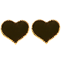 Lesa Heart Earrings