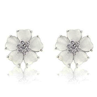 Nouveau Mystique Floral Earrings