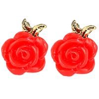Pansy Rose Earrings