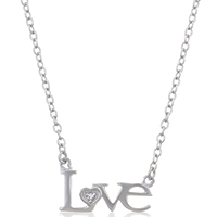 Love Inspired Silver Necklace