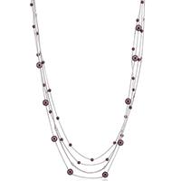 Purple Orbital Inspired Necklace