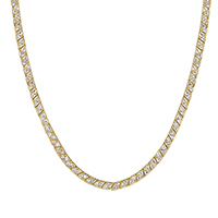 Remembrance Tutone Bonded Necklace