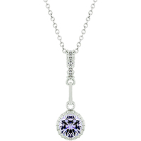 Bonded Solitaire Bliss Pendant