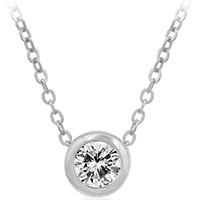 Brilliant Compass Round Necklace