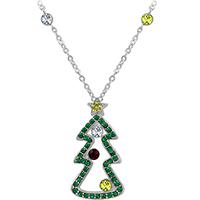 Diamond Christmas Tree Pendant