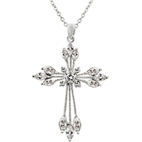 Luxury Conviction Cross Pendant