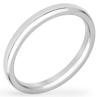 2mm Stainless Wedding Band