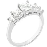 5 Stone Anniversary Ring