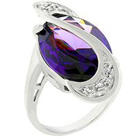 Amethyst World Wonder Ring