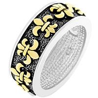 Antique Fleur De Lis Ring