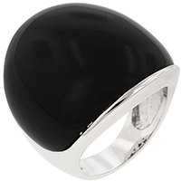 Black Onyx Cocktail Ring