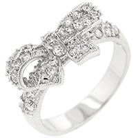Bonded Shoelace Designer Ring