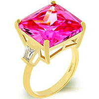 Bright Blossom Engagement Ring