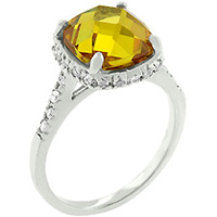 Canary Princess Yellow Ring