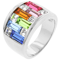 Candy Maze Colored Ring