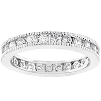 Classic Milligrain Eternity Band