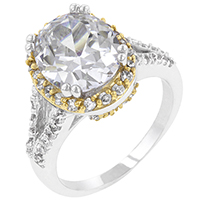 Coronation White Engagement Ring
