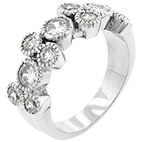 CZ Brilliance Round Ring
