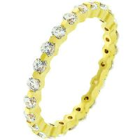 Golden Silver Eternity Band