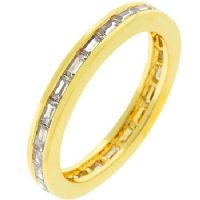 Golden Stacker Eternity Ring