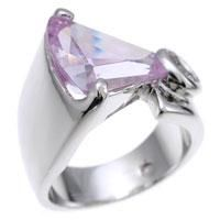 Lavender CZ Fashion Ring