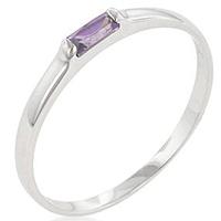 Lavendra Petite Solitaire Ring
