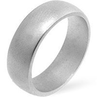 Matte Simple Wedding Band