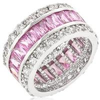 Pink Classic Fashion Ring