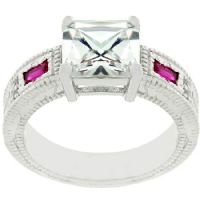 Princess Donna Ruby Ring