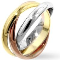 Triple Color Ring Set