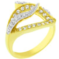 Visible Luxury Gold Ring