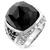 Avalanche Black Onyx Ring