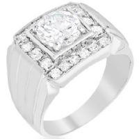Charger Men CZ Ring