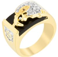 Soaring Eagle Mens Ring