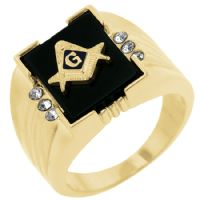 Stunning Masonic Men Ring