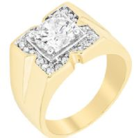 Triple Threat CZ Ring