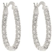 Inside Out Hoop Earrings