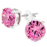Blossom Stud Zirconia Earrings