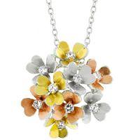 Summer Flowers Bouquet Pendant