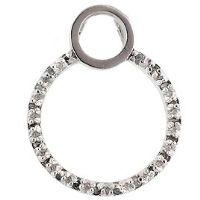 Silver Live Diamond Pendant