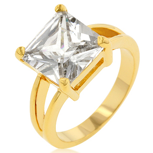 Crystal Ceste Amore Ring